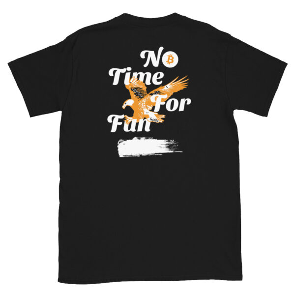 WEH0DL Bitcoin Orange Eagle Classic T Shirt – BLACK 1