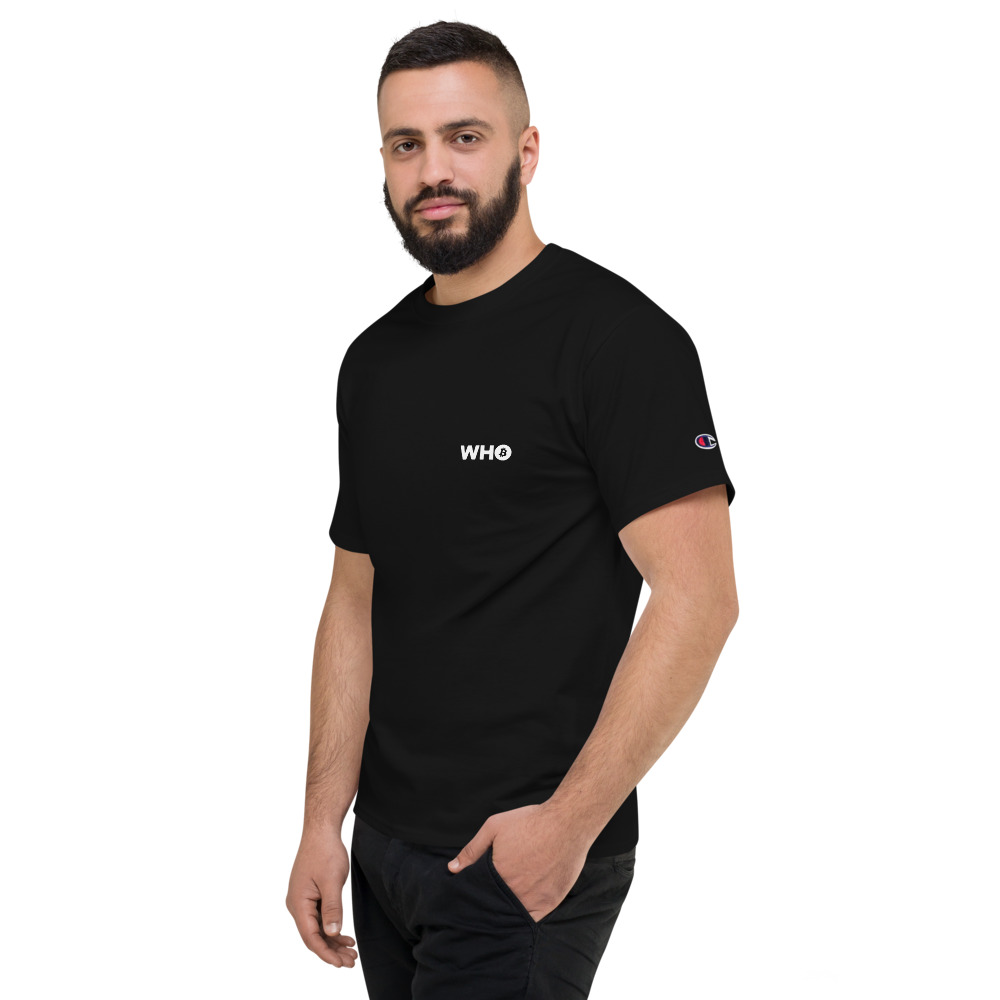 WEH0DL WHO True Classic Brand Logo – BLACK – FRONT GRAPHIC – NINTH VIEW