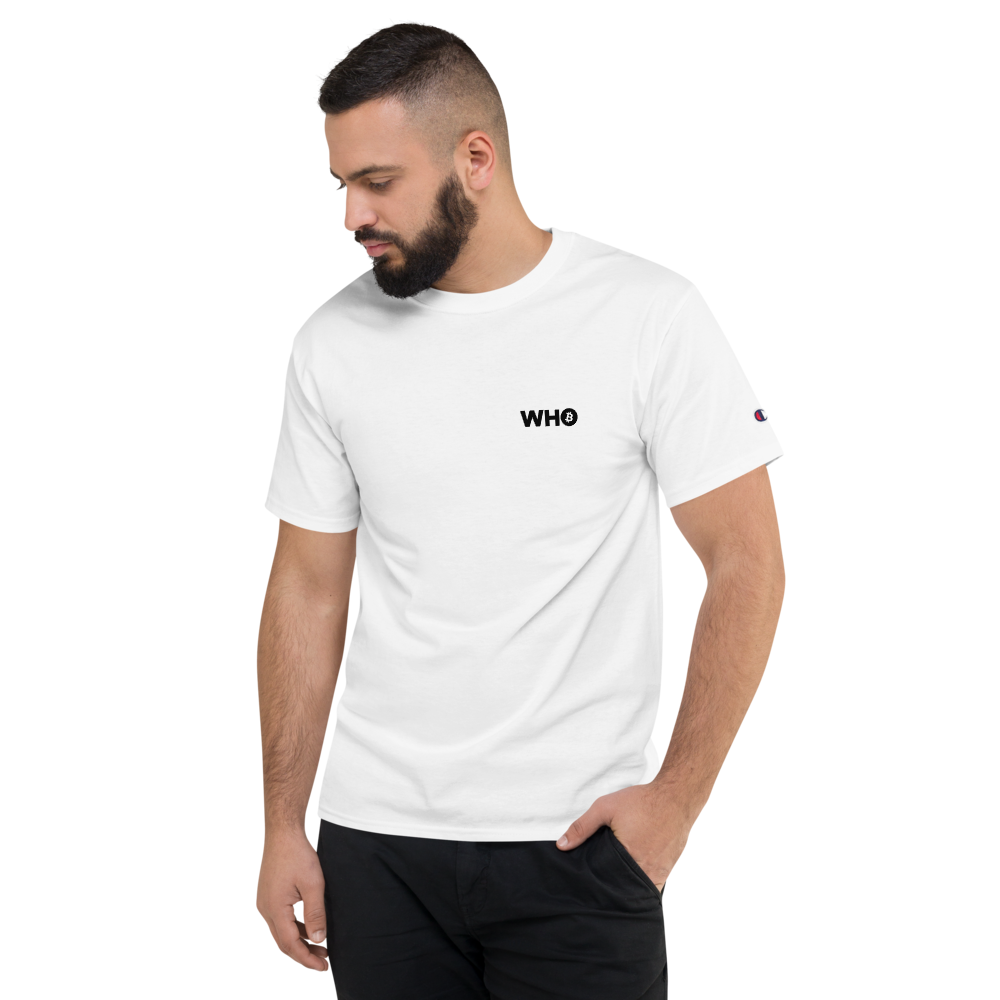 WEH0DL WHO True Classic Brand Logo – WHITE – FRONT AND BACK GRAPHIC – THIRD VIEW