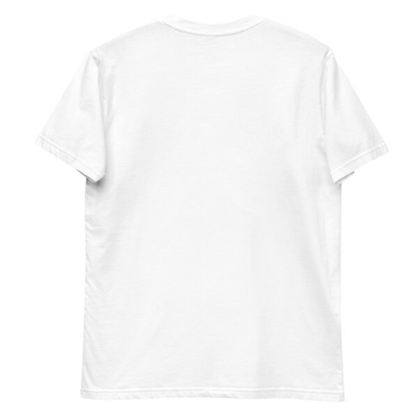 WEH0DL Blockchains Classic T Shirt WHITE – FRONT GRAPHIC SECOND VIEW