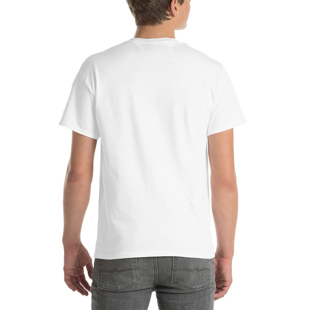 WEH0DL DYOR Bold White T Shirt FRONT GRAPHIC SIXTH VIEW