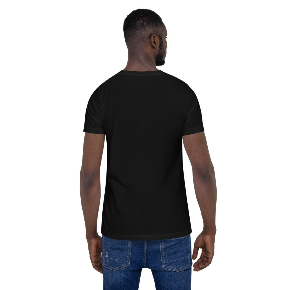 WEH0DL DYOR Classic Black T Shirt FRONT GRAPHIC – FOURTH VIEW