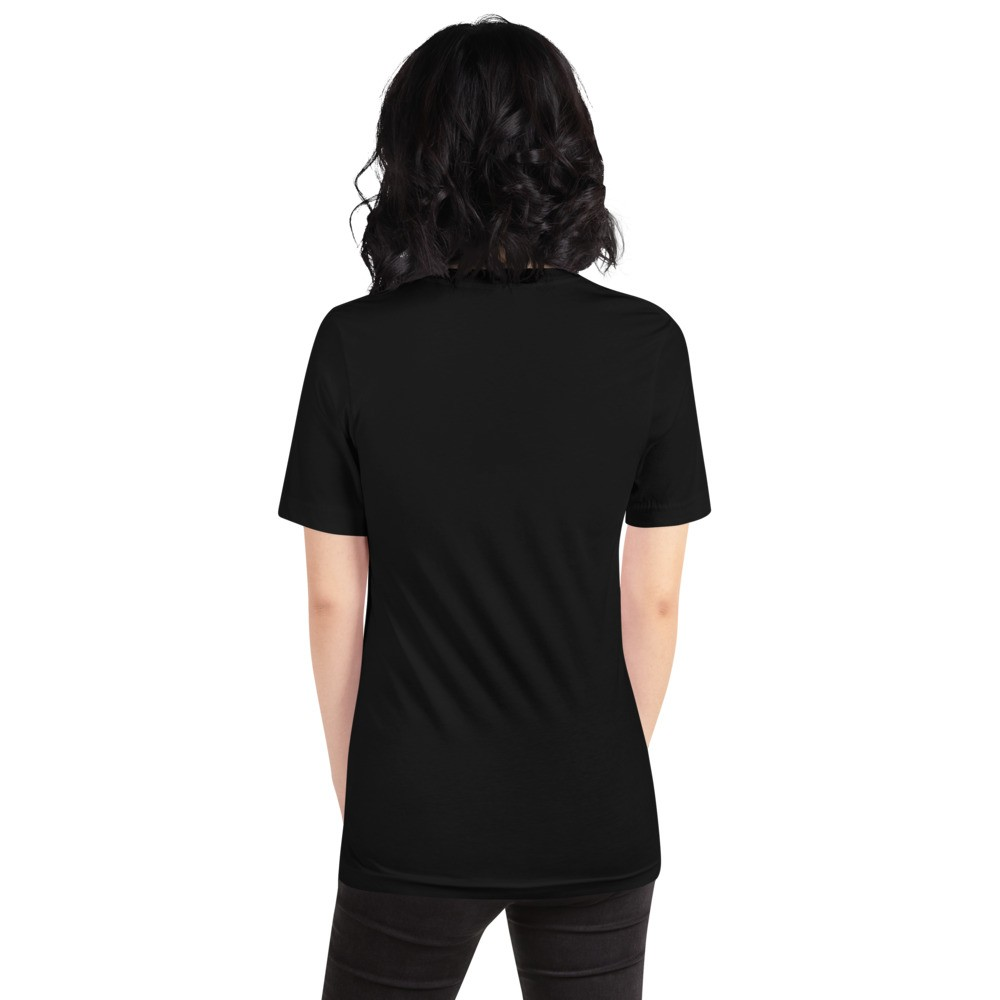 WEH0DL DYOR Classic Black T Shirt FRONT GRAPHIC – SEVENTH VIEW
