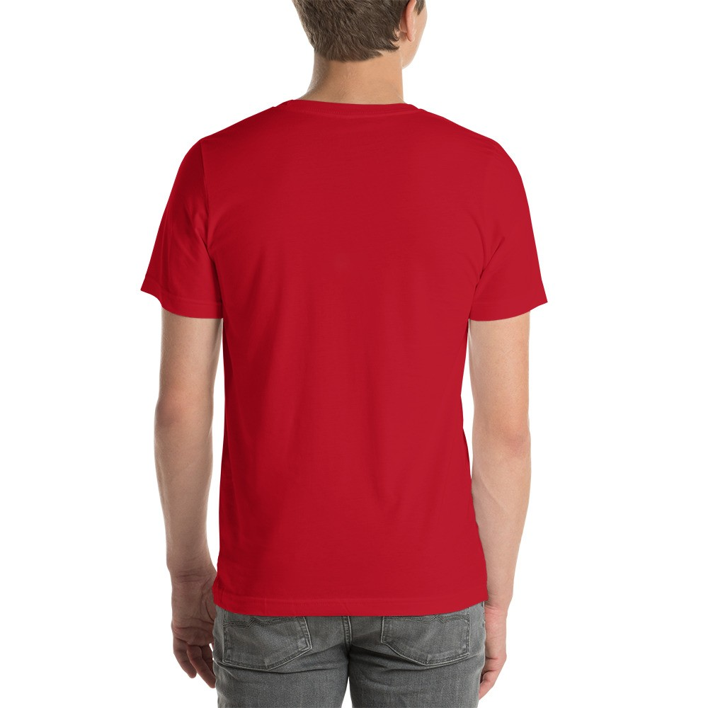 WEH0DL DYOR Classic Red T Shirt FRONT GRAPHIC – FOURTH VIEW