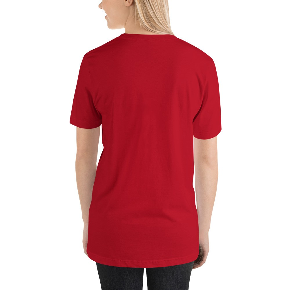 WEH0DL DYOR Classic Red T Shirt FRONT GRAPHIC – SIXTH VIEW