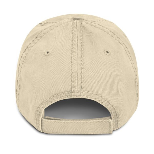 WEH0DL MOONING Dat Hat in Used Look – KHAKI – FRONT GRAPHIC – FOURTH VIEW 1
