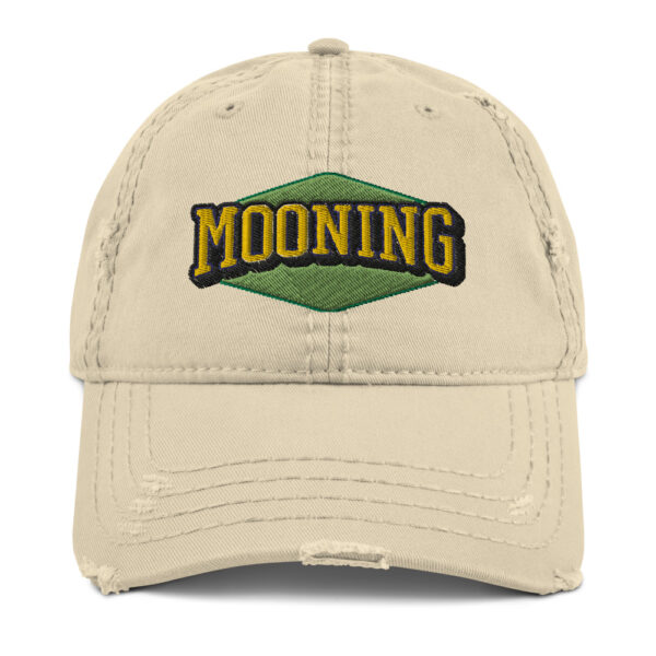 WEH0DL MOONING Dat Hat in Used Look – Khaki – FRONT GRAPHIC – FIRST VIEW