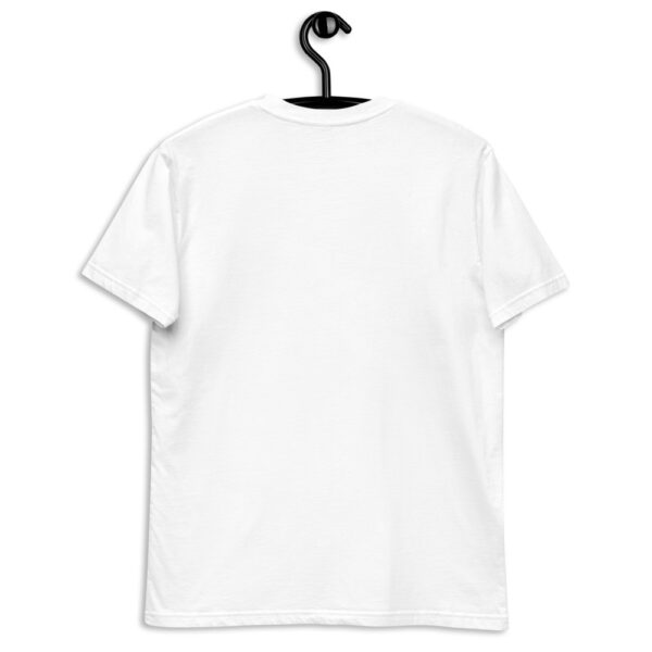 WE H0DL Classic T Shirt – WHITE – FRONT GRAPHIC – SECOND VIEW