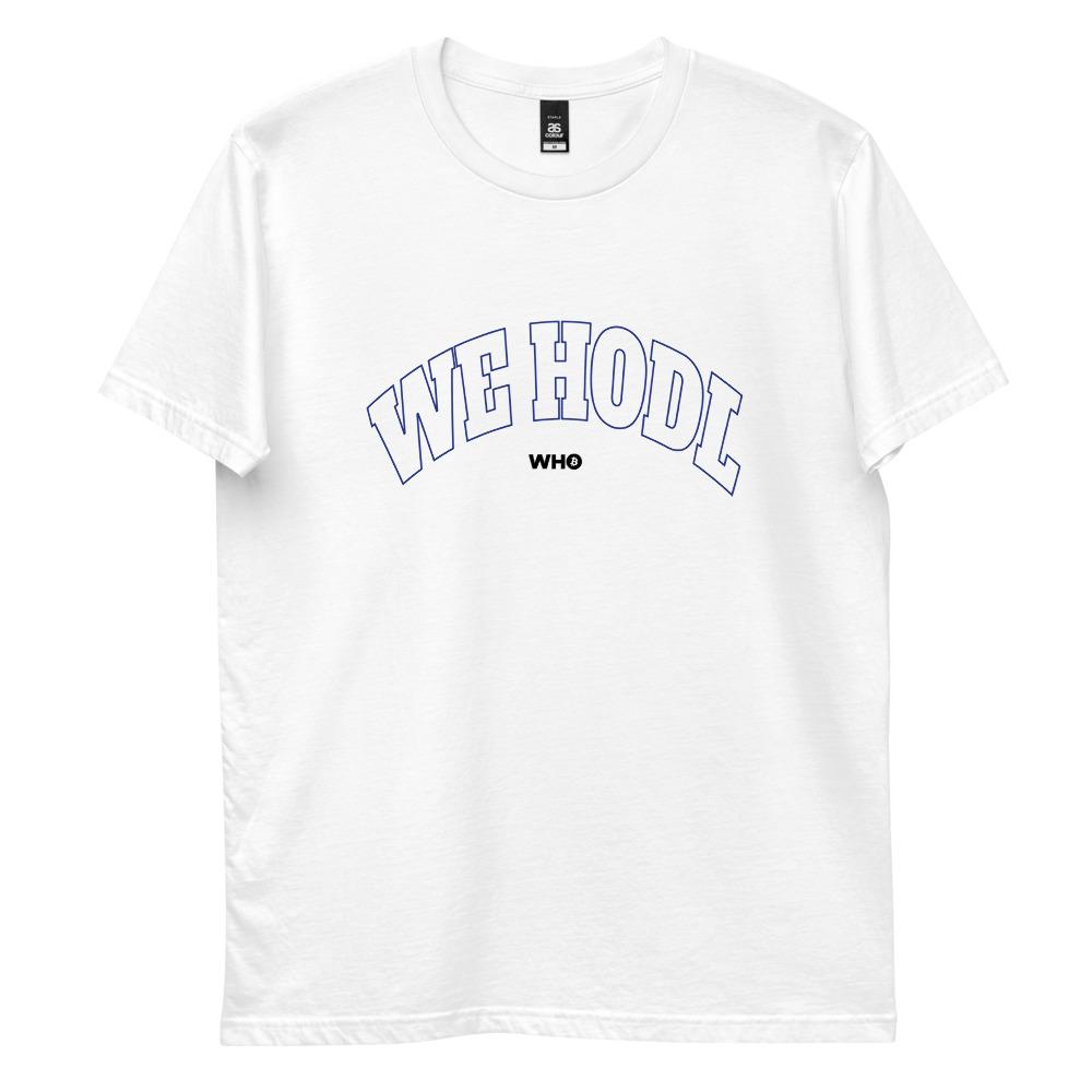 WE H0DL Classic T Shirt – WHITE 1