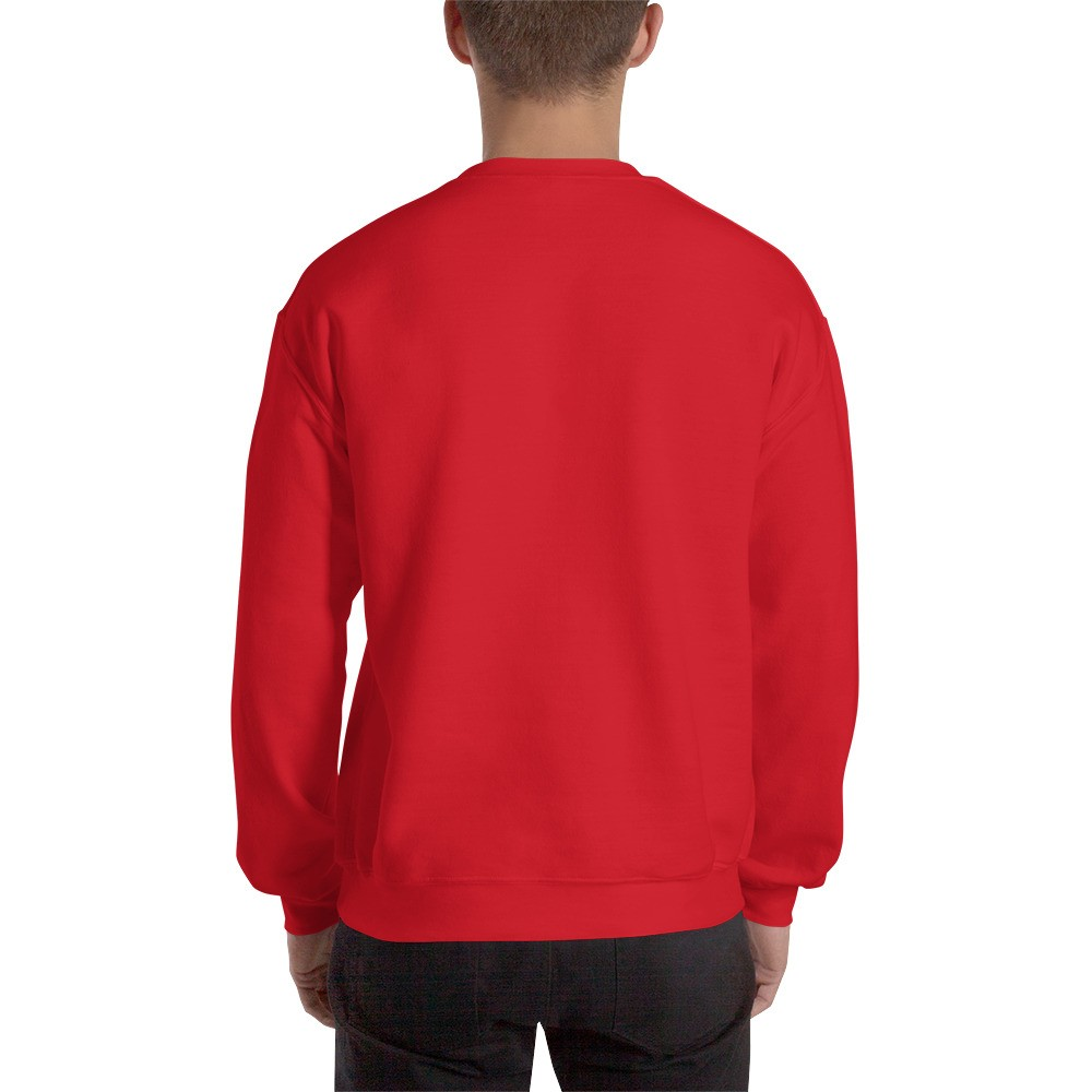 WEH0DL Crew Neck Sweatshirt – RED– FRONT GRAPHIC – FOURTH VIEW.jpg