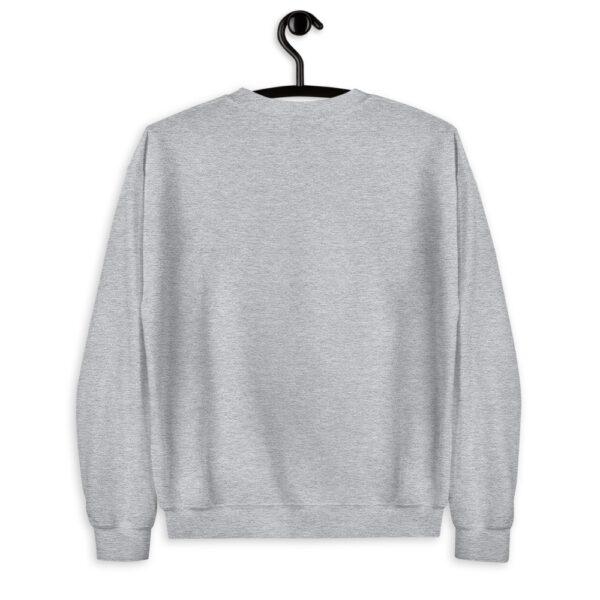 WEH0DL Crew Neck Sweatshirt – SPORT GREY FRONT GRAPHIC – SECOND VIEW