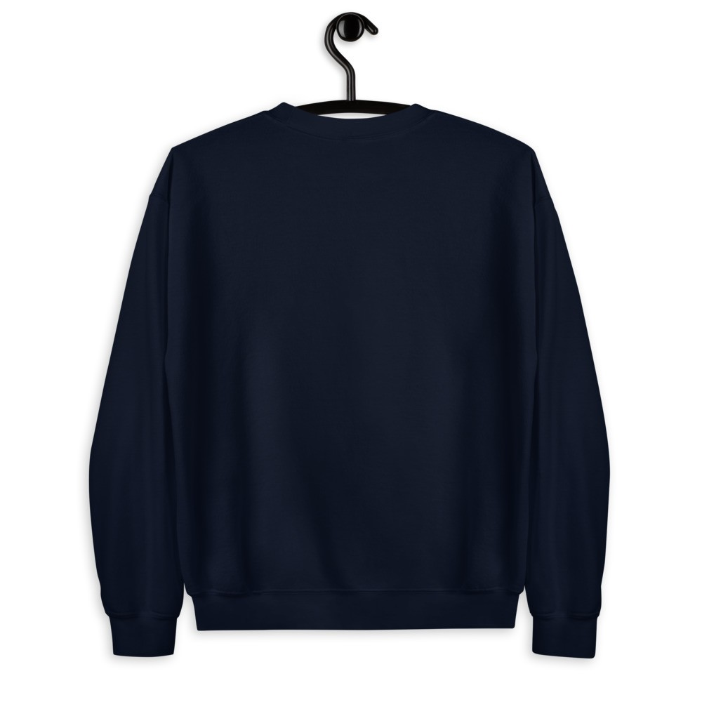WE H0DL Crew Neck Sweatshirt NAVY BLUE 2