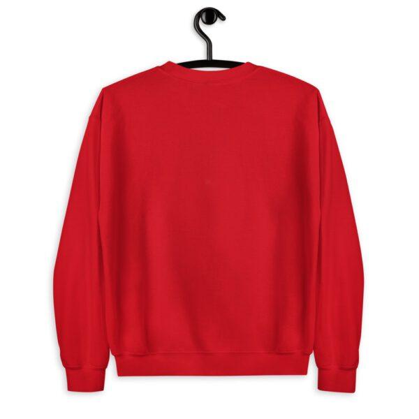 WE H0DL Crew Neck Sweatshirt RED 2