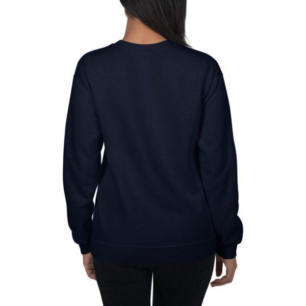 WEH0DL Crewneck Sweatshirt – NAVY BLUE – FRONT GRAPHIC – SIXTH VIEW 1