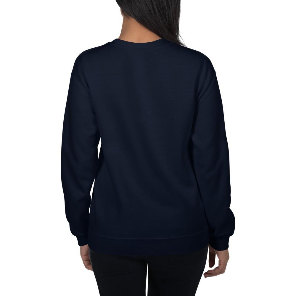 WEH0DL Crewneck Sweatshirt – NAVY BLUE – FRONT GRAPHIC – SIXTH VIEW