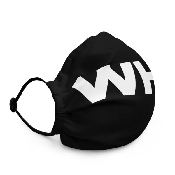 WEH0DL WHO Bitcoin Facemask – BLACK – FRONT GRAPHIC – THIRD VIEW 1