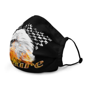 WEH0DL Bitcoin Race Eagle FACEMASK