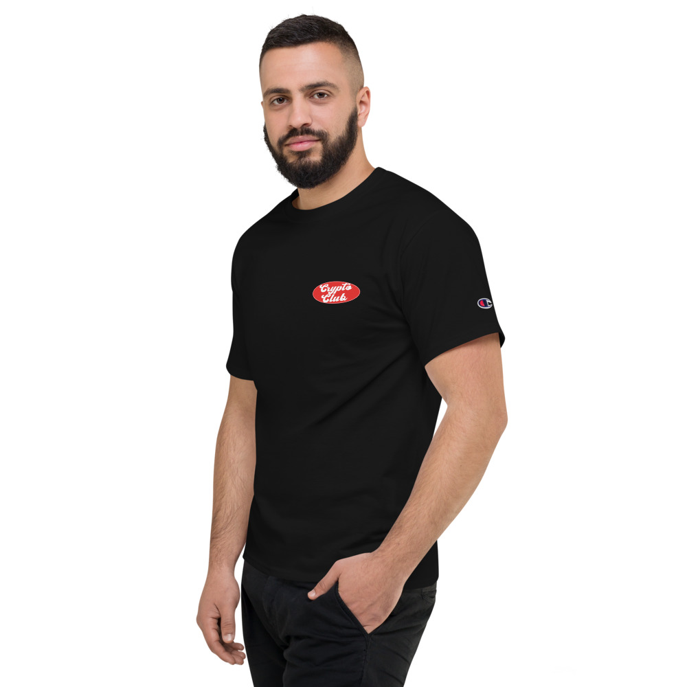 WEH0DL Crypto Club Classic T Shirt BLACK 4