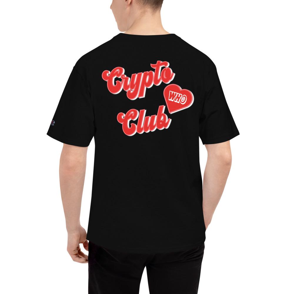 WEH0DL Crypto Club Classic T Shirt BLACK 9