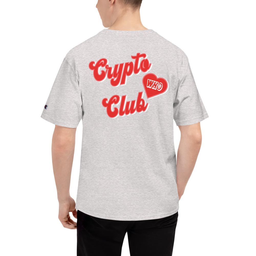WEH0DL Crypto Club Classic T Shirt OXFORD GREY HEATHER 9