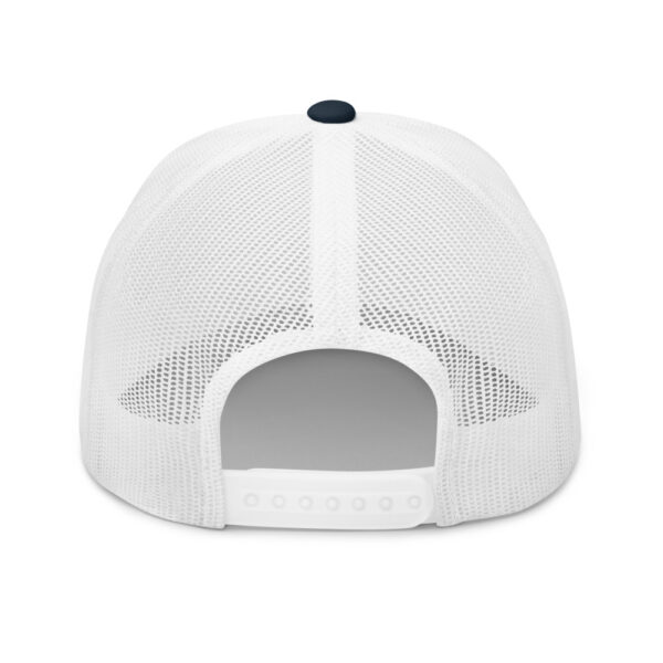 WEH0DL Crypto Club Trucker Cap – NAVY AND WHITE 4