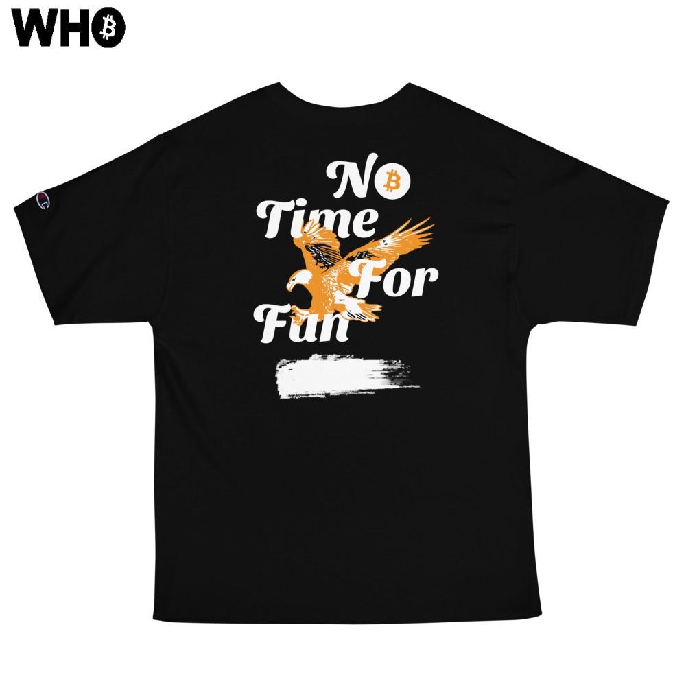 Men's T-Shirts (Champion) (Black)