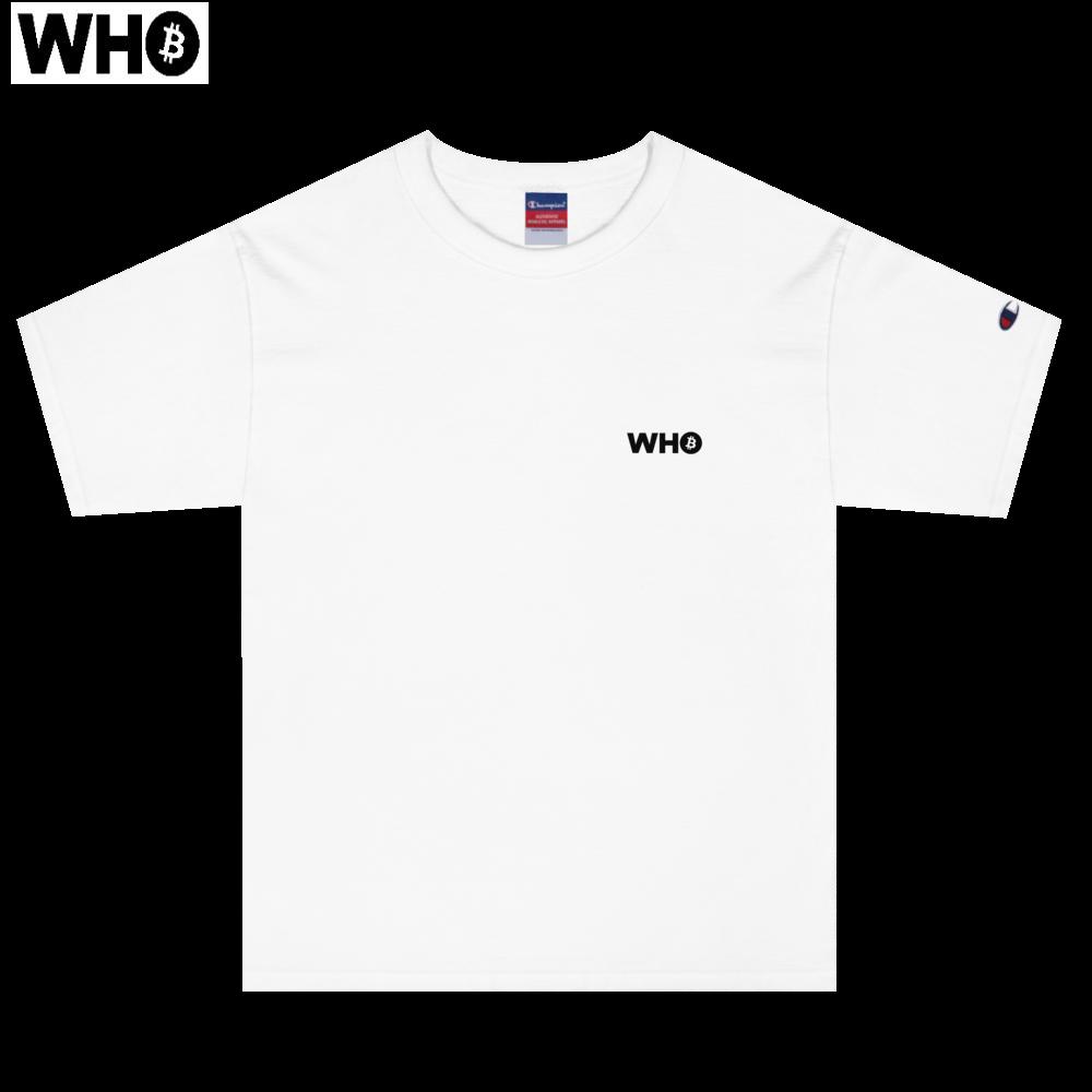 Men's T-Shirts (Champion) (White)