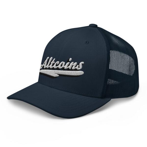 WEH0DL Altcoins Trucker Cap – DARK NAVY 2 1
