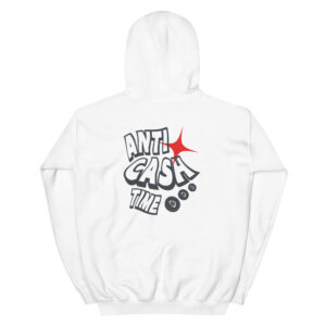 WEH0DL Bitcoin Anti Cash Time HOODIE