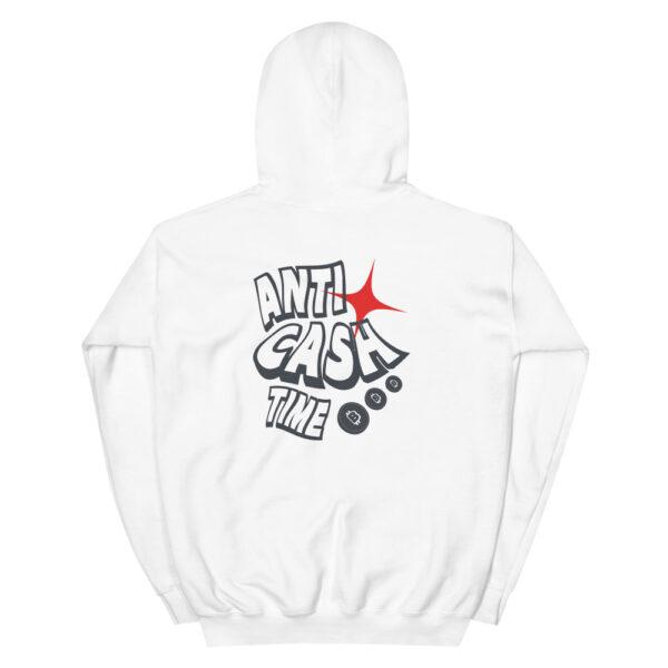 WEH0DL Anti Cash Time Hoodie WHITE 4