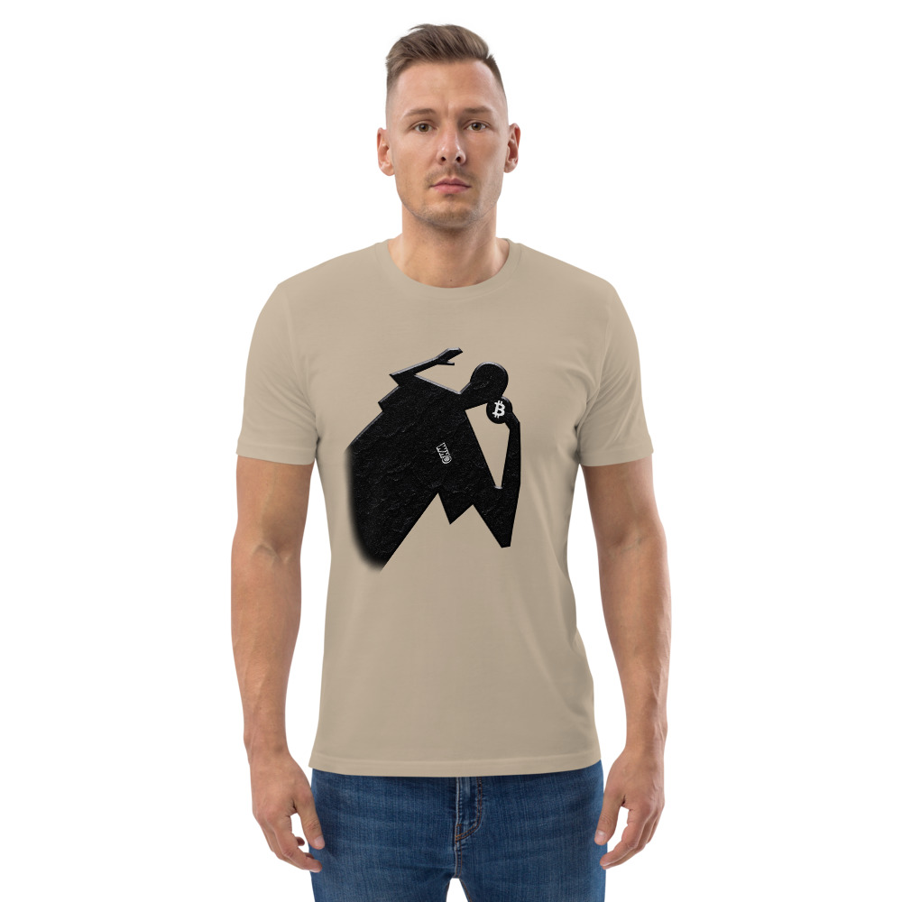 WEH0DL Bitcoin Aesthetic Cotton T Shirt – DESERT DUST 5