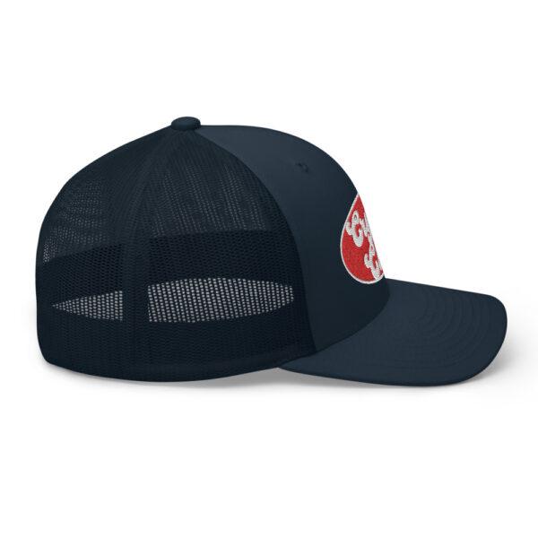 WEH0DL Crypto Club Trucker Cap – NAVY 2