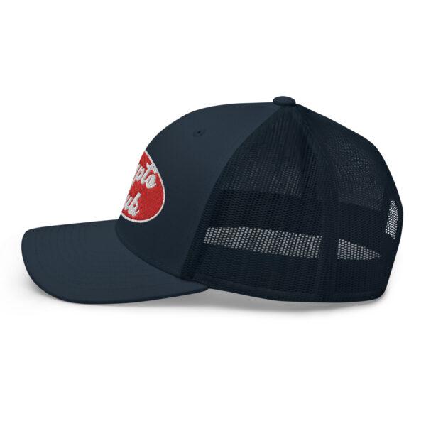 WEH0DL Crypto Club Trucker Cap – NAVY 3