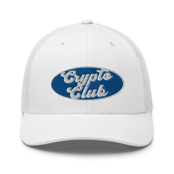 WEH0DL Crypto Club Trucker Cap – WHITE 1