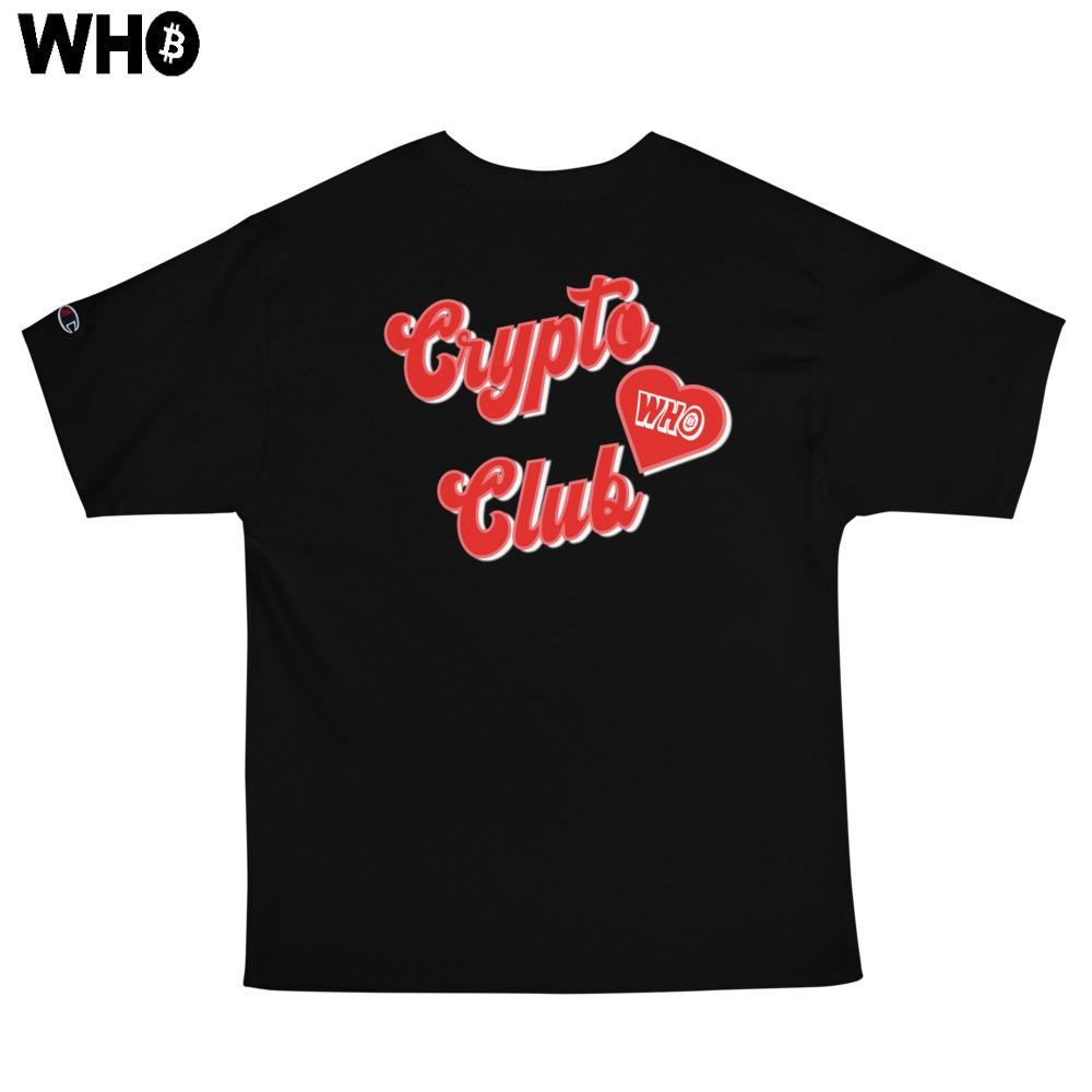 Crypto Club Classic Tee (Champion) (Black)