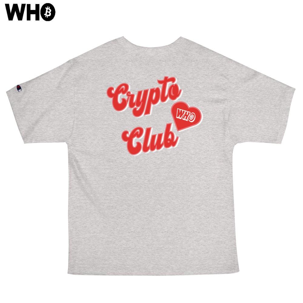 Crypto Club Classic Tee (Champion) (Grey)